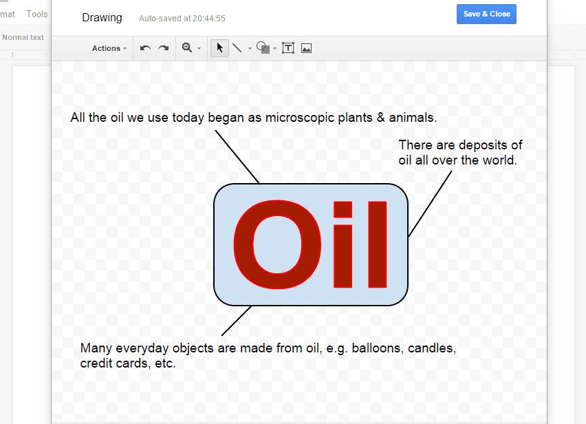 Google Docs Word Art