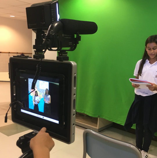 Video Production with the Padcaster & Green Screen   Technology for Learners